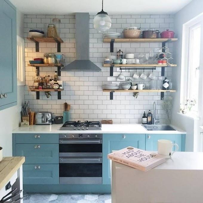 Rak Partisi Minimalis Dapur | Ide Rumah Minimalis