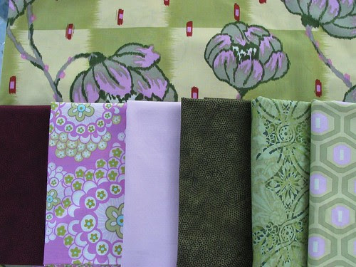 guild mystery quilt fabrics