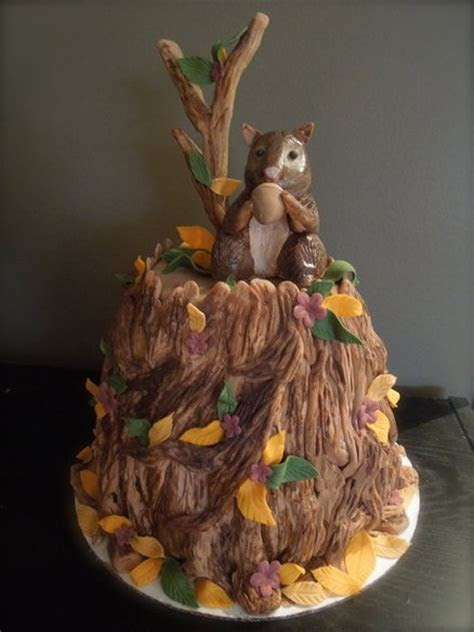 squirrel cake Cake by joy cupcakes NY   Squirrel, Chipmunk