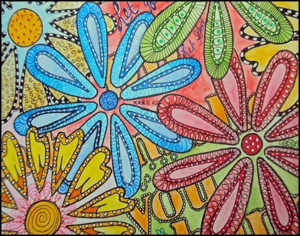 Draw Doodle and Decorate: Flower Power