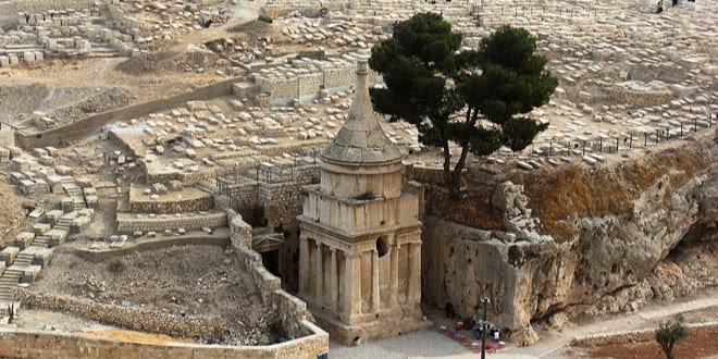 The Tomb of Absalom in the Kidron Valley in Jerusalem. (Shutterstock)