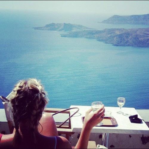 {Day 17: Water} Santorini, Greece #janphotoaday