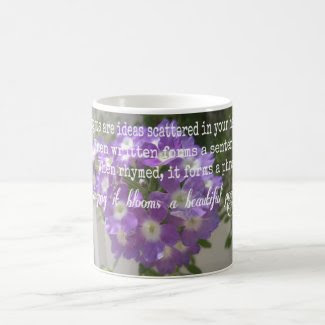 Beautiful Thoughts Poem 11 oz Classic White Mug