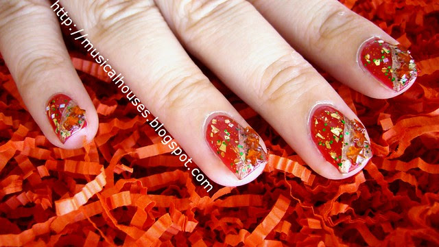 chinese new year nail art 1