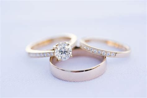 Engagement Ring vs Wedding Ring and Wedding Band: A
