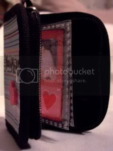 Mini Zip Binder Album Standing