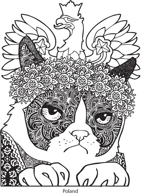 dover publications cute coloring pages cat