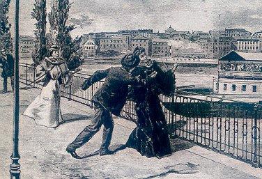 The assassination of Empress-Queen Elisabeth