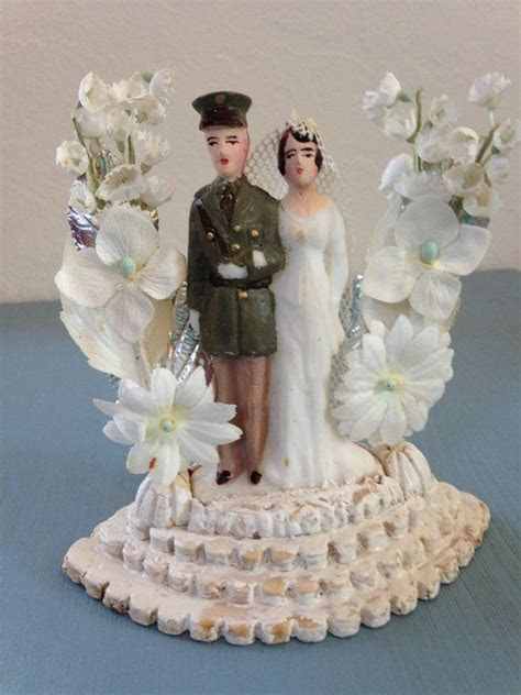 340 best Vintage Wedding Cake Toppers images on Pinterest