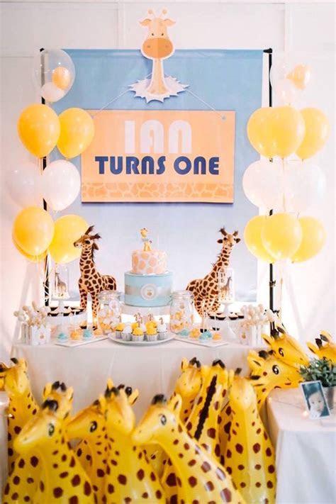 Kara's Party Ideas Little Giraffe Birthday Party   Kara's