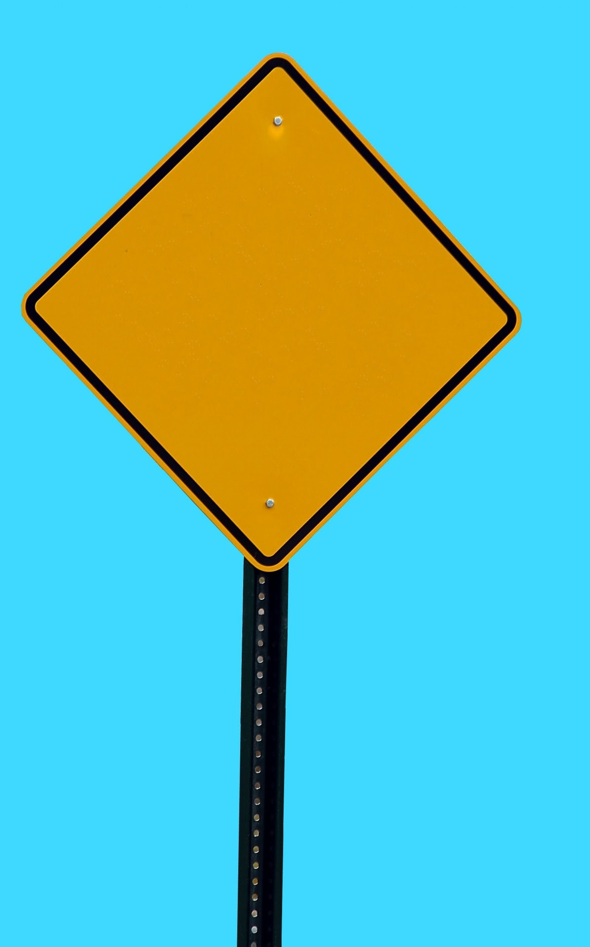 Blank Road Sign Free Stock Photo - Public Domain Pictures