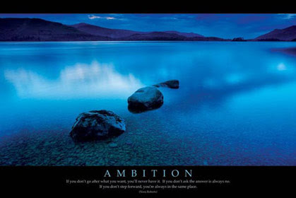 Ambition Motivational poster Click Add to Cart to Order