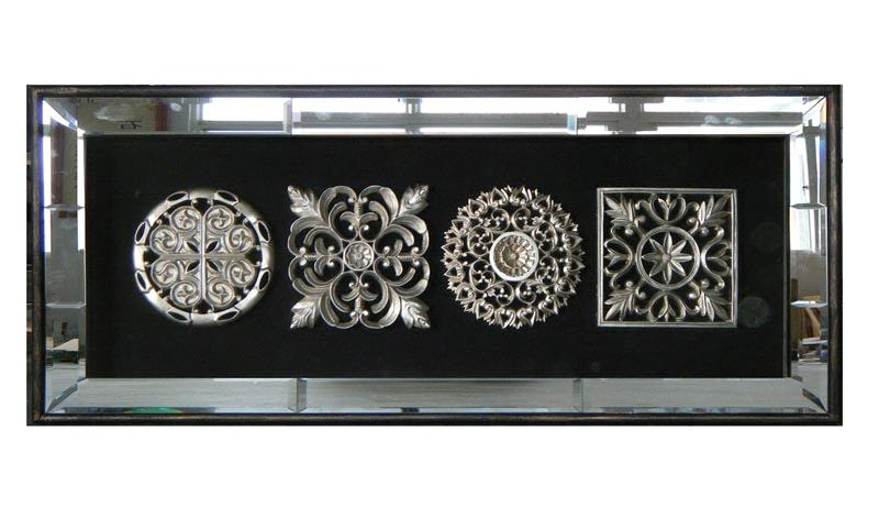 Woodcarving with Glass Frame for Wall Decoration (3227) - China ...
