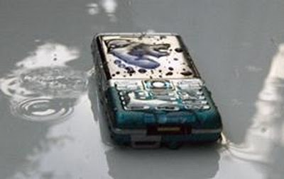 Saving your wet phone