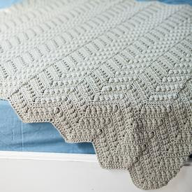 Willow Baby Afghan - Free Crochet Pattern