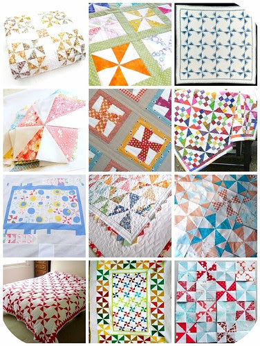 beautiful pinwheels  for :: the quilt catalogue ::