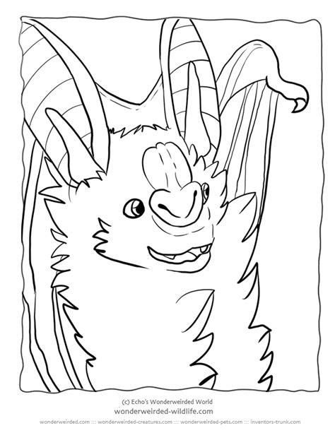 vampire bat cartoon coloring home
