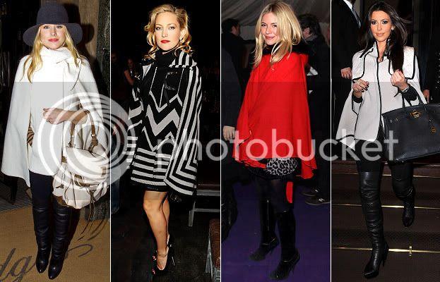 Winter 2010 Fashion Trends: Cape Coats