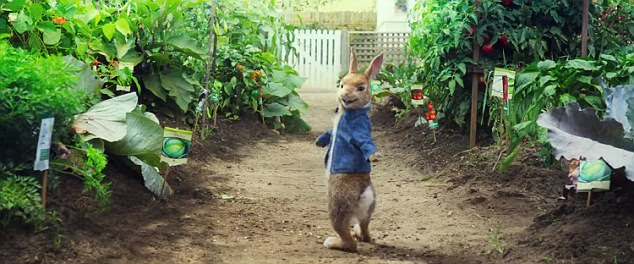 The new Peter Rabbit is seen wiggling his bottom in a provocative ¿twerking¿ dance, making fans of the childhood classic upset