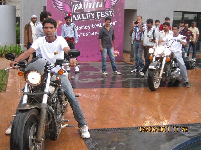 """Park Titanium Harley Fest"" at Park Street Wakad Pune IMG_6904"