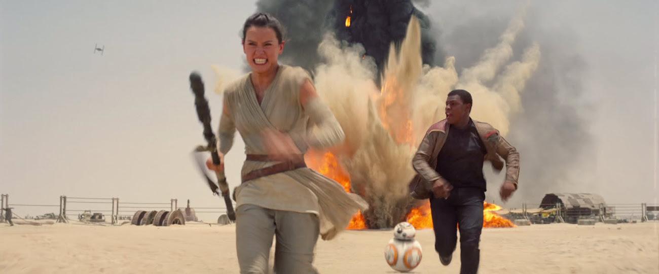 Star Wars - Le Réveil de la Force : Photo Daisy Ridley, John Boyega