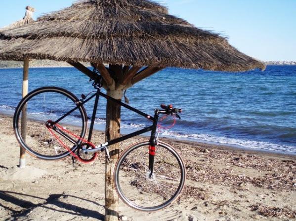 ποδήλατο θάλασσα