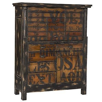 Interesting stencil....nice way to paint a chest of drawers - then distress stenciled areas and frame....