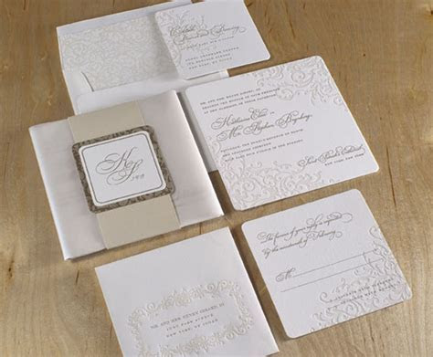 Wedding Invitations, Custom Letterpress and other Fine