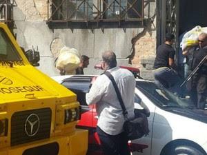 Polícia recupera quase R$ 9 milhões roubados durante assalto em Santos (Foto: Nina Barbosa/TV Tribuna)