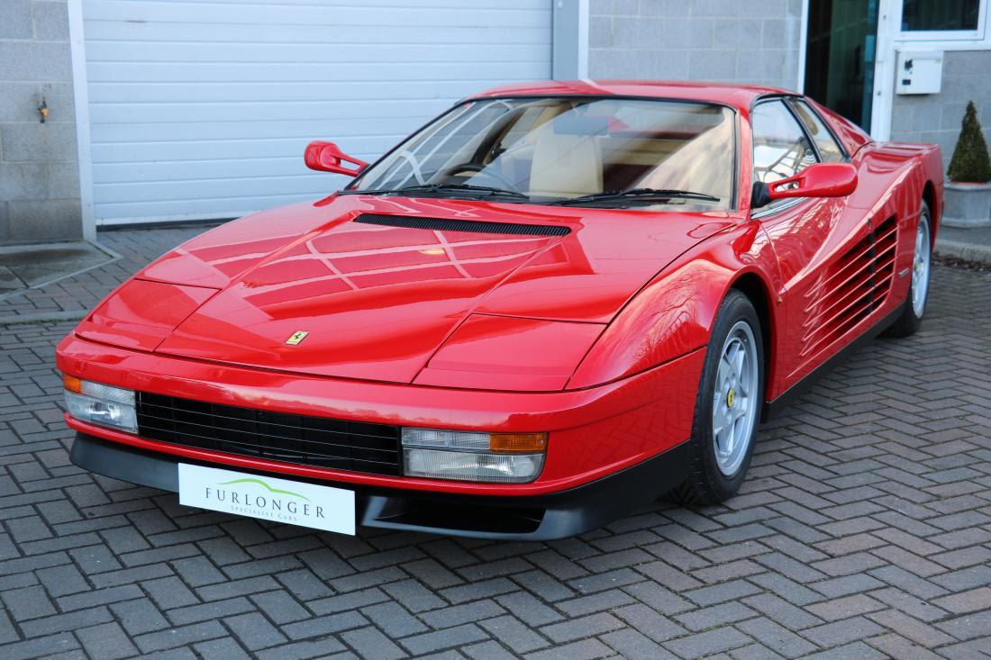 Ferrari Testarossa For Sale In Ashford Kent Simon