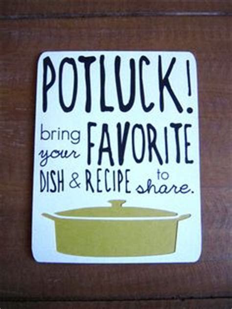 1000  images about potluck invitations on Pinterest