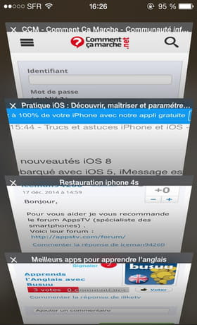 iPhone 6 - How to close background browser tabs (Safari)