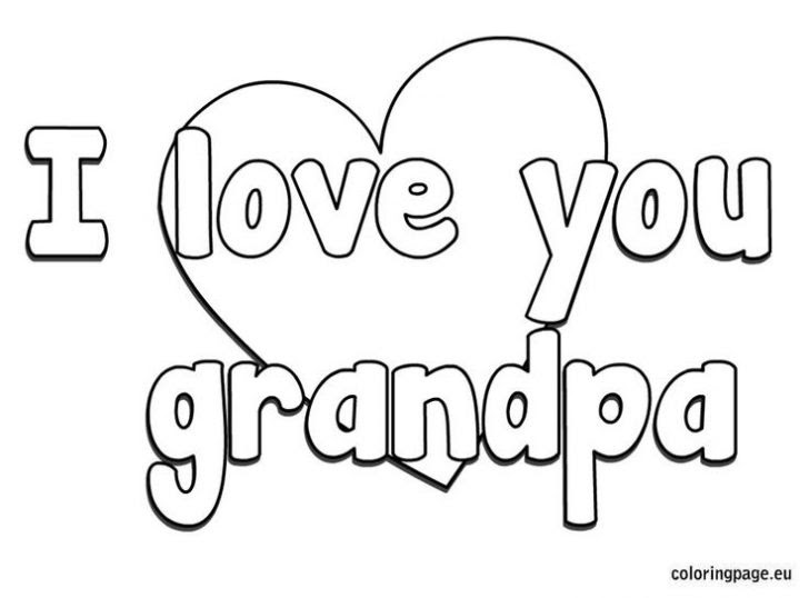 Fathers Day Coloring Pages For Grandpa at GetColorings.com ...