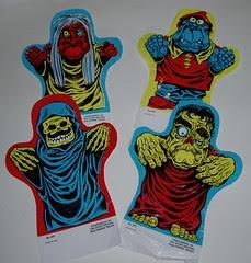 1966 Humdinger Monster Puppets sign