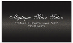 BCS-1111 - salon business card