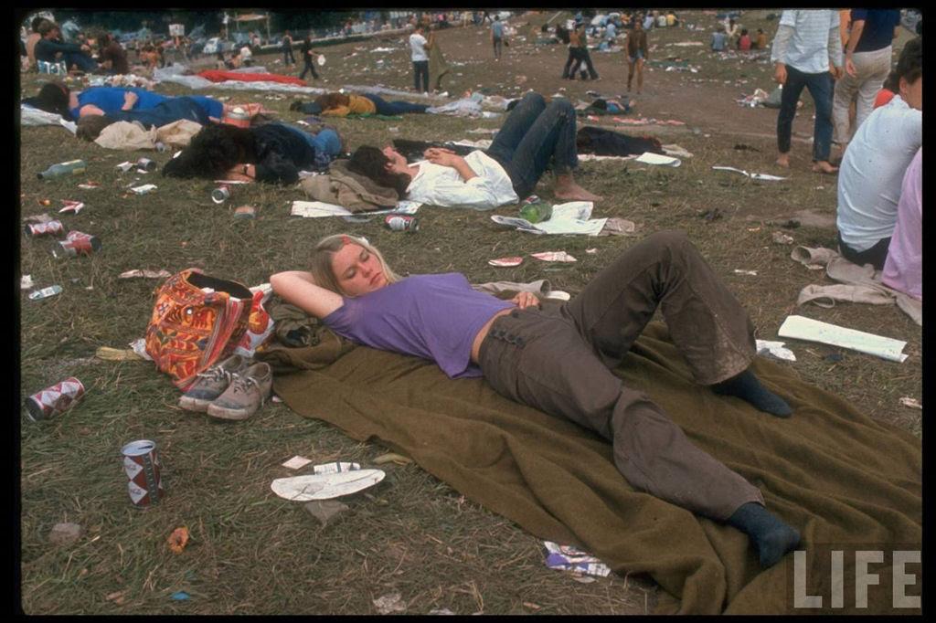 O festival de Woodstock em números e imagens 47
