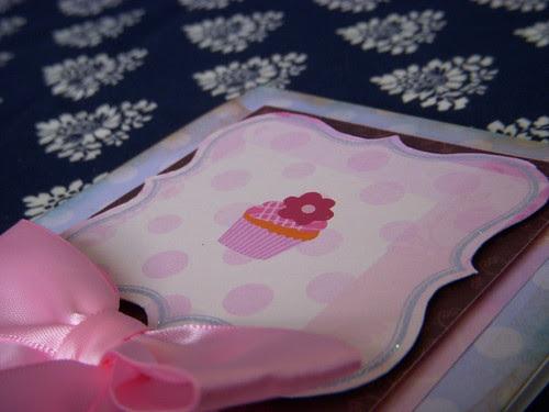 Pink Cupcakes Close Up