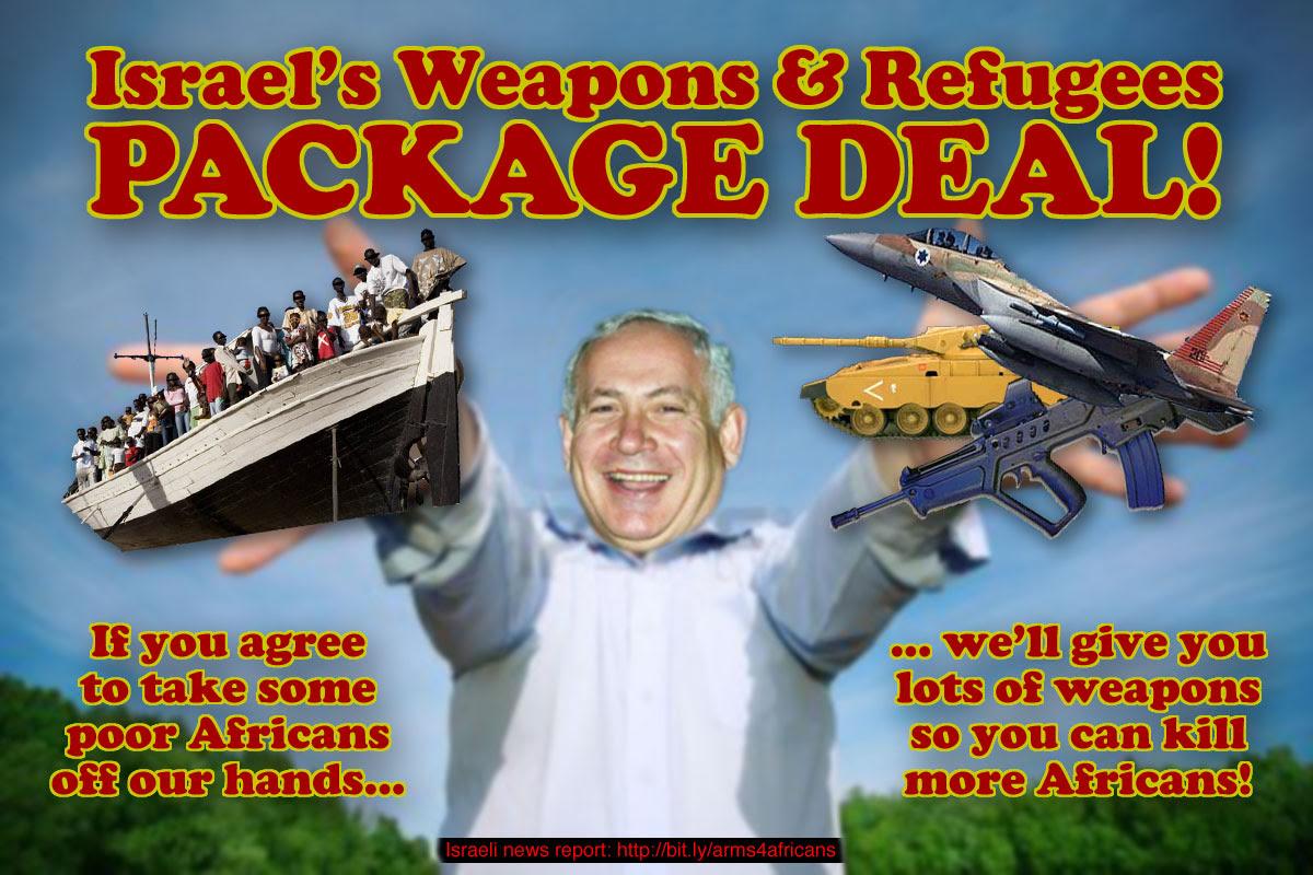 Israele espelle i rifugiati africani