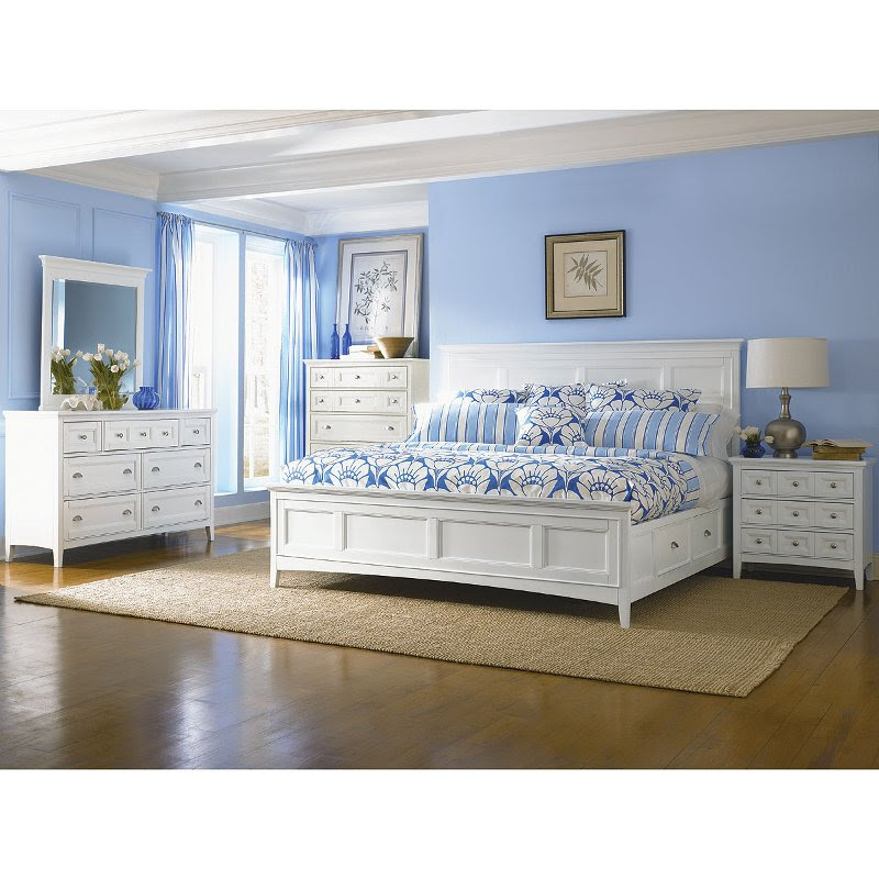 105 King Bedroom Sets In White New HD