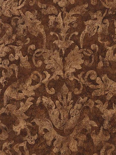 gold  brown damask wallpaper gallery