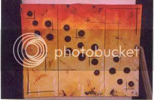 Naranjas deshidratadas,no sé el nombre del pintor