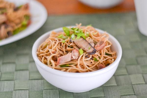 Roast Pork Lo Mein - Salu Salo Recipes