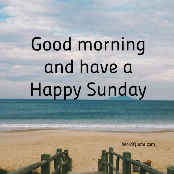 Good Morning Have A Happy Sunday Pictures Photos And Images For