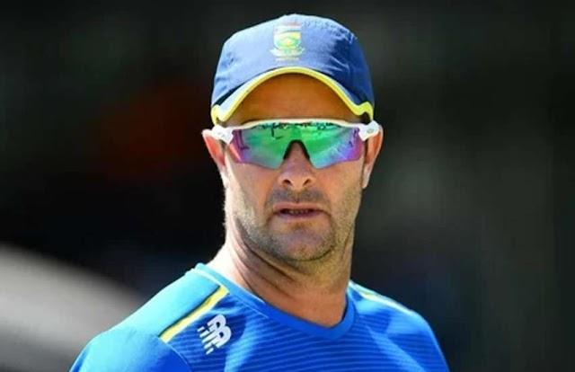 कोच मार्क बाउचर ने ली पाकिस्तान के खिलाफ सीरीज में दक्षिण अफ्रीकी टीम हार जिम्मेदारी