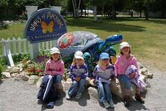 Fun at the Butterfly Garden