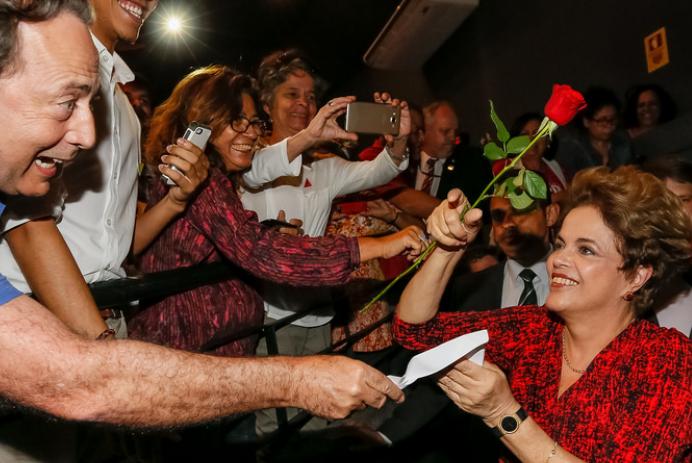 Dilma enfrente impeachment Foto: Roberto Stuckert Filho