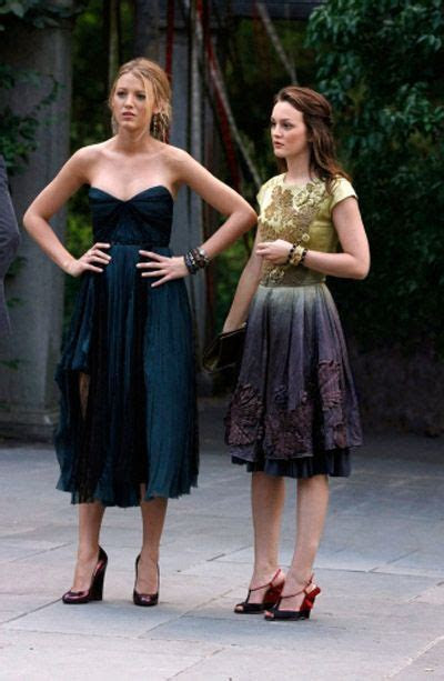 Lily and Rufus' wedding Blair Waldorf dress: Red Valentino