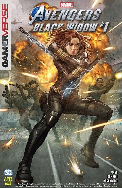 Marvel Gamerverso: Viúva Negra (2020)