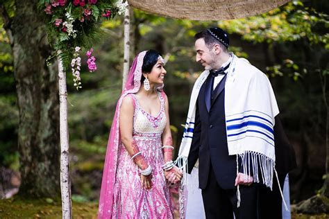 Celebrating a Colorful Jewish Indian Wedding at the Full