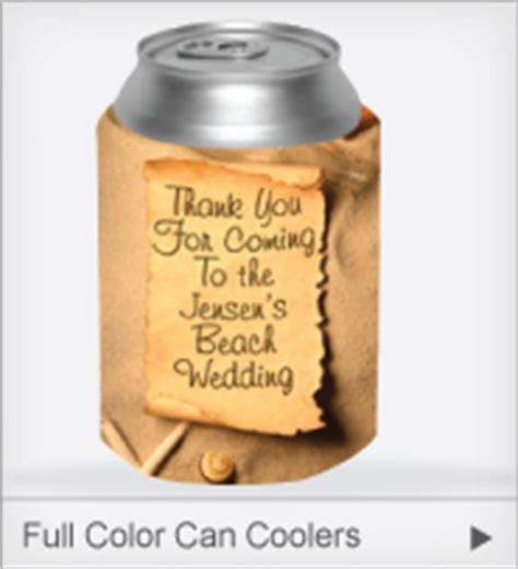 Personalized Wedding Koozies   Low Prices & Free Shipping